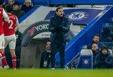 """Nusivylęs F.Lampardas: """"Nutiko ta pati sena istorija, nesugebėjome išnaudoti progų"""""""