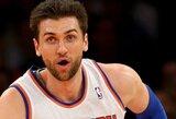 """A.Bargnani ir A.Stoudemire'as ketina likti """"Knicks"""" gretose"""