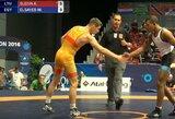 K.Šleivos akistatą su egiptiečiu UWW pripažino geriausia čempionato dvikova
