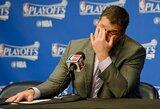 """NBA pasaulį sukrėtė itin emocionali pravirkusio """"Grizzlies"""" stratego spaudos konferencija"""