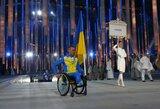 Sočio parolimpinių žaidynių atidaryme – įspūdingi vaizdai ir ukrainiečių protestas