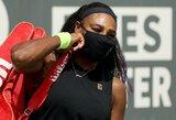 Staigmena ketvirtfinalyje: S.Williams po pratęsimo pralaimėjo antrojo šimtuko žaidėjai