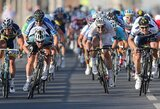 """A.Kruopis trečiajame """"Tour of Qatar"""" dviračių lenktynių etape finišavo 3-ias"""