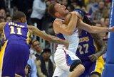 """""""Clippers"""" Los Andželo derbį laimėjo 36 taškų skirtumu"""