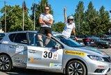 """""""DHL Rally Elektrėnai"""" – ne tik pro automobilio langą"""