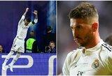 """S.Ramosas: """"Džiaugiuosi, kad perėmiau C.Ronaldo pareigas"""""""