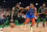 """""""Celtics"""" dramatiškai palaužė """"Thunder"""" klubą"""