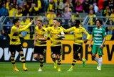 """""""Borussia"""" iškovojo vietą Čempionų lygoje, """"Wolfsburg"""" kovos dėl išlikimo"""