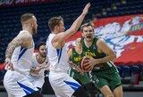 Lietuvos rinktinė užtikrintai įveikė čekus