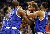 Penki aršiausi šio NBA sezono konfliktai ir muštynės