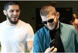 """""""UFC 254"""": I.Machačevas išbrauktas iš turnyro programos, ieškoma būdų, kaip įleisti žiūrovus į areną"""