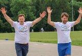 Lietuviškos olimpinės mylios bėgime – paralimpiečių startai