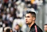 C.Ronaldo dėl nuovargio nedalyvaus rungtynėse Italijoje