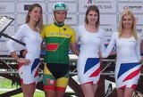 """V.Lašinis antrajame """"Carpathian Couriers Race"""" etape – ketvirtas"""