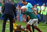 """Ant kojos Neymarui užmynęs M.Layunas: """"Jei nenori, kad tave liestų - pasirink kitą sportą"""""""