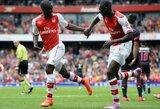 """Jaunieji """"Arsenal"""" puolėjai sutriuškino Portugalijos čempionus"""