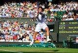 Staigmenos baigėsi: R.Berankį Vimbldone sustabdė Prancūzijos teniso veteranas