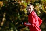 """G.Bale'as: """"Žaisti rinktinėje įdomiau nei Madride"""""""