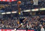 """NBA dienos momentu tapo puikus """"Pacers"""" gynėjo dėjimas"""