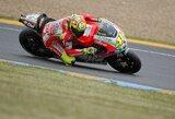 V.Rossi Prancūzijos motociklų GP lenktynėse tikisi lietaus