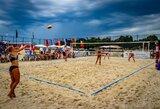 Lietuvos paplūdimio tinklininkės Kroatijoje įveikė pirmąjį olimpinės atrankos etapą