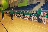Lietuvos jaunių merginų rankinio rinktinė nesėkme pradėjo Europos čempionato atranką