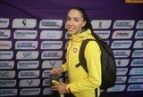 Šeštas trišuolio finalas su Lietuvos atstove – D.Zagainova į jį žengė atlikusi vos vieną bandymą
