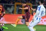 """K.Strootmanas nubaustas už vaidybą: praleis mačus su """"Juventus"""" ir """"Milan"""""""