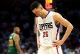"""""""Clippers"""" gynėjas rungtynių metu ėmė grasinti žiūrovui"""