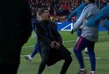 """D.Simeone paaiškino skandalingą gestą Čempionų lygos rungtynėse su """"Juventus"""""""