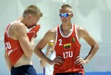 A.Rumševičius ir L.Každailis Europos žaidynių starte pralaimėjo šeimininkams