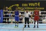 Lietuviai sėkmingai pradėjo Europos jaunimo bokso čempionatą