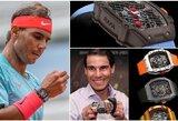 R.Nadalis atkreipė visų dėmesį: tokio brangaus laikrodžio mačo metu dar niekas nedėvėjo