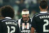 """G.Chiellini: """"Dengsiu L.Suarezą taip pat, kaip dengiau K.Benzemą, C.Ronaldo ar G.Bale'ą"""""""