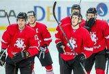 Ledo ritulio rinktinės varžovai: čempionato favoritai, NHL superžvaigždė ir paslaptingoji Korėjos rinktinė