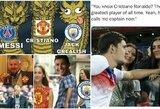 """Geriausi internautų pokštai po sensacingo C.Ronaldo sugrįžimo į """"Man United"""""""