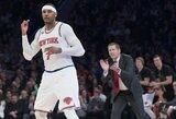 """Gražiausių dienos epizodų viršūnėje – """"Knicks"""" išgelbėjęs metimas"""