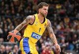 """""""Maccabi"""" pratęsė sutartį su vienu iš komandos lyderių"""