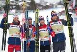 J.H.Klaebo atitrūko nuo S.Ustiugovo ir užtikrino pasaulio čempionato auksą norvegams