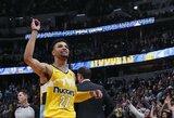 """""""Nuggets"""" be trijų svarbiausių puolėjų palaužė """"Lakers"""""""