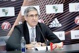 """Eurolygos vadovas J.Bertomeu sukritikavo FIBA: """"Visi jų sudaryti tvarkaraščiai buvo klaidingi"""""""