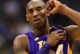 """Buvęs """"Lakers"""" žaidėjas: Bryantas man liepė su juo nesikalbėti"""