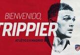 """Oficialu: K.Trippieras rungtyniaus """"Atletico"""" gretose"""