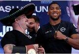 """Drastiškų pokyčių ėmęsis A.Joshua: """"A.Ruizas – geriausias sunkiasvoris boksininkas pasaulyje"""""""
