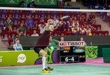 K.Navicką badmintono turnyre Bahreine sustabdė 47-oji pasaulio raketė
