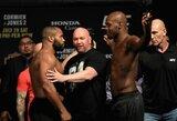 """""""UFC 214"""" svėrimai: vienam iš kovotojų prireikė medikų pagalbos, tačiau įvyks visos suplanuotos kovos!"""