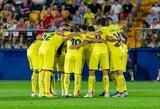 """Autsaiderius įveikę """"Villarreal"""" iškovojo pirmą pergalę Ispanijos pirmenybėse"""