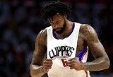 """""""Clippers"""" ėmė svarstyti apie pagrindinio vidurio puolėjo išmainymą"""