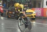 """Prieš poilsio dieną """"Giro d'Italia"""" lenktynėse – dar viena P.Rogličiaus pergalė"""