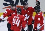 Europos rinktinę įveikusi Kanada užėmė pirmą vietą A grupėje